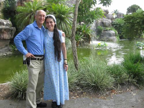 Miami at falls at Zoo