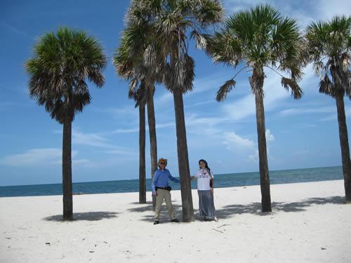 Moni and Richard at Miami Beach