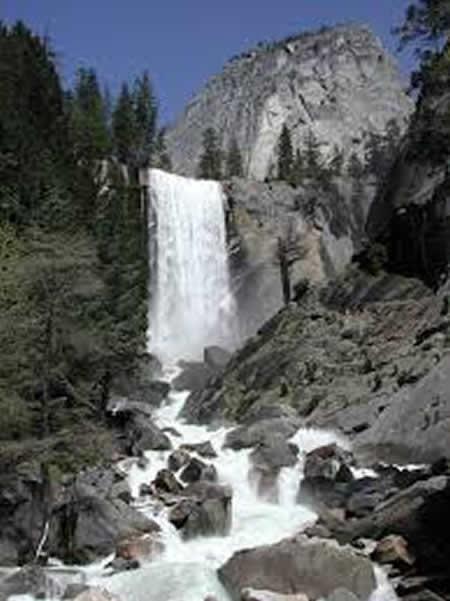 Vernal Fallse Yosemite