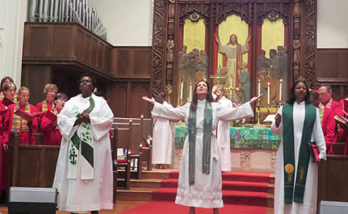 methodist woman pastor