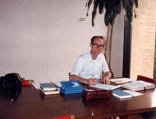 Study at Library, 1987