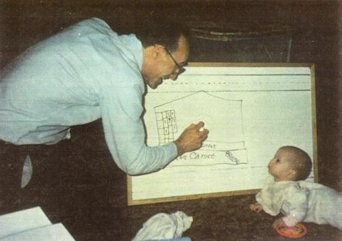 Teaching Baby the Bible!