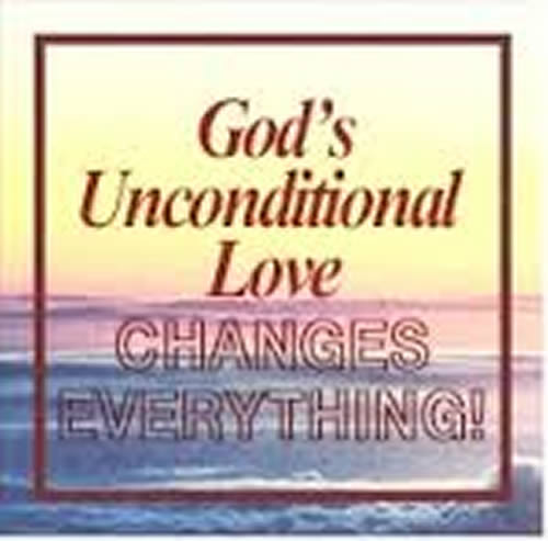 love of God--unconditional