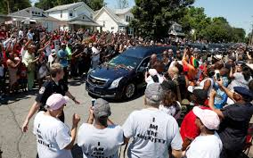 Muhammad Ali--funeral
